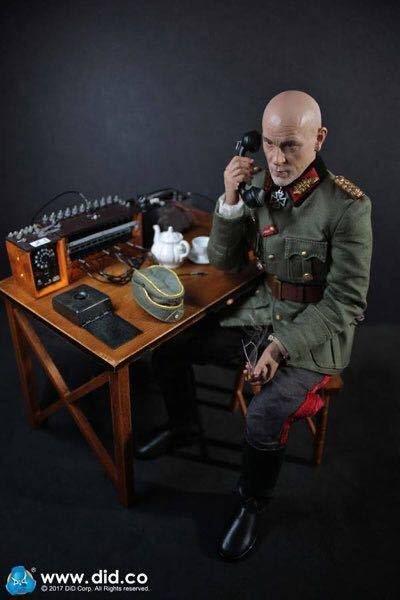画像1: 【DID】D80123 ドイツ軍 通信部隊 1/6スケールアクションフィギュア (1)