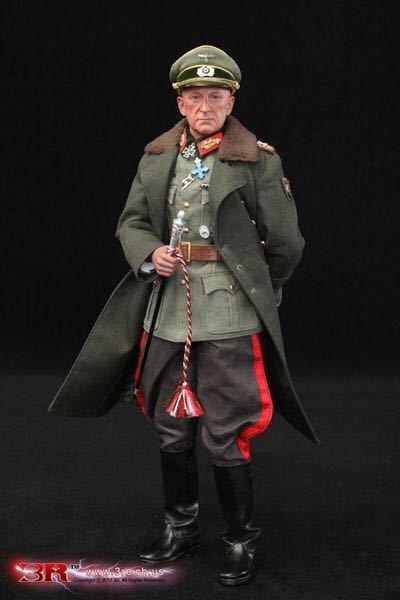 画像1: 【3R】GM637 WW2 ドイツ陸軍 元帥 エーリッヒ・フォン・マンシュタイン 1/6スケールアクションフィギュア (1)